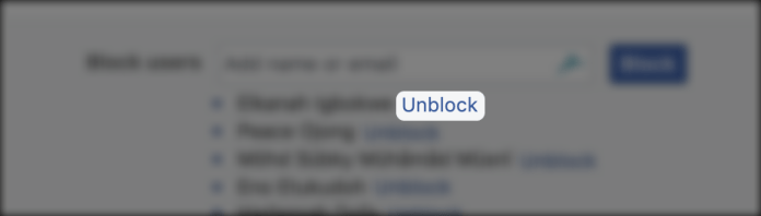 View your blocked list on Facebook – How to unblock someone on Facebook