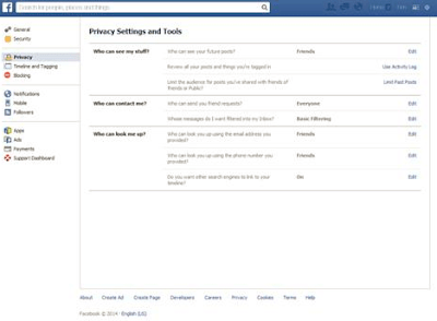 How to Set Facebook Account to Private