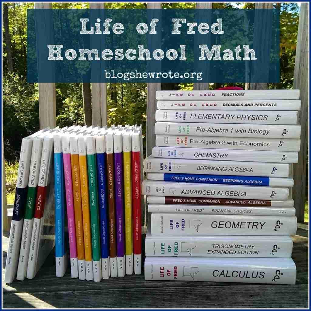 Life Of Fred Homeschool Math