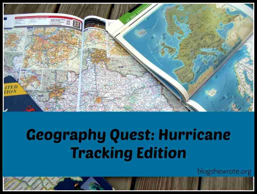 Geography Quest Hurricane Tracking Edition