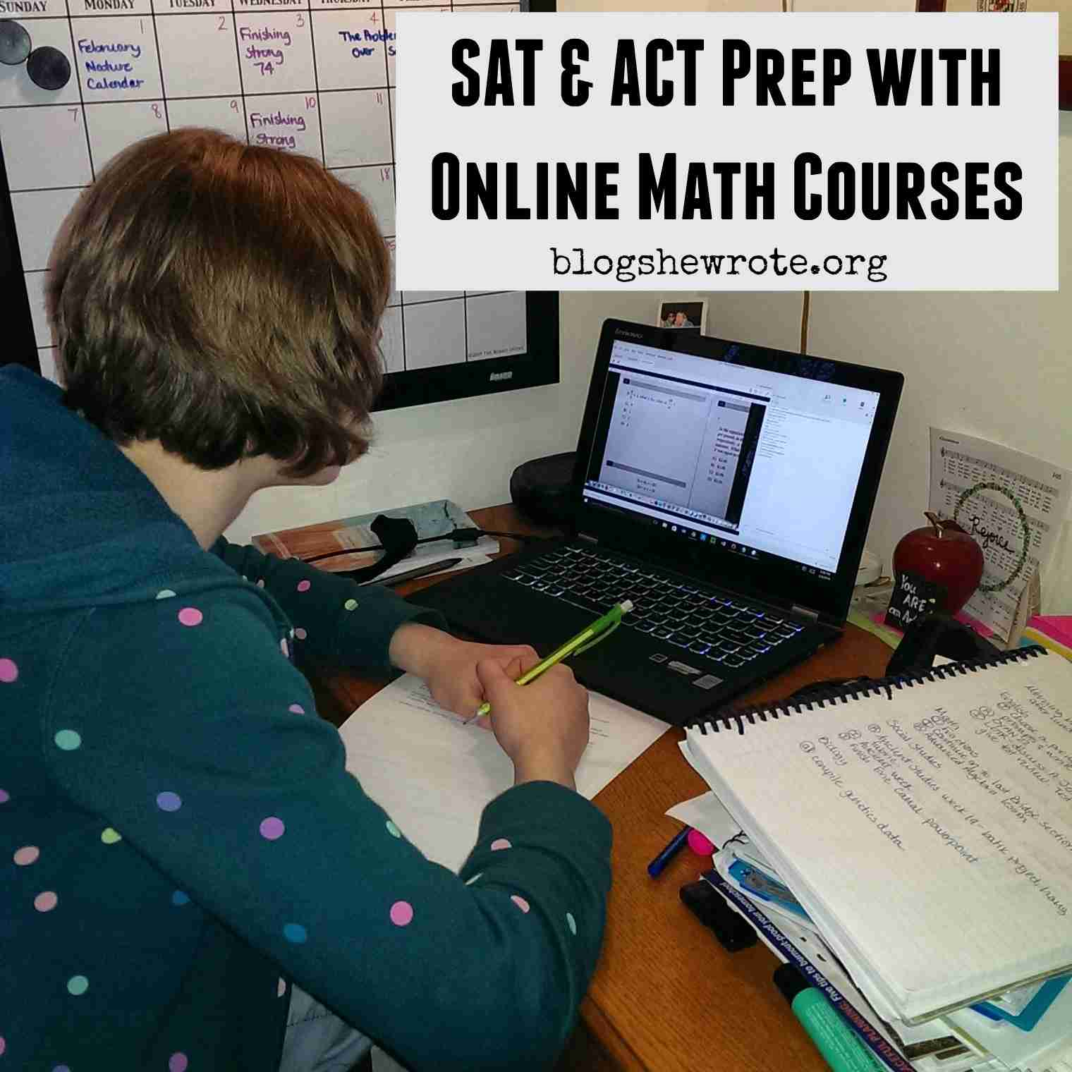 Sat Amp Act Prep With Online Math Courses