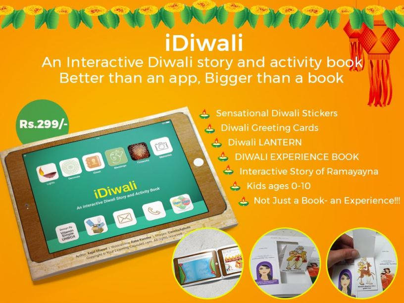 iDiwali Way to Celebrate Diwali