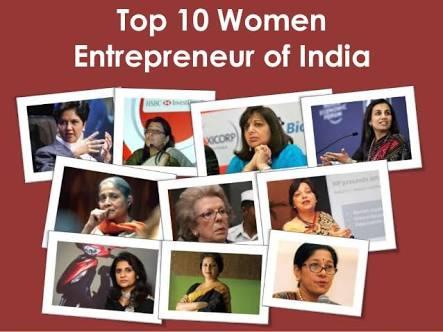 Top 10 women entrepreneurs of India who