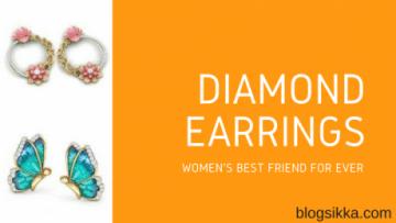 Diamond Earrings from Caratlane