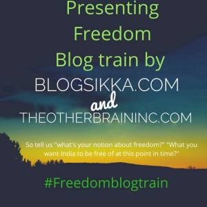 Freedom blog train