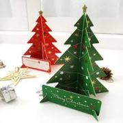 Xmas Tree Cards With Kids | AtoZ Blogging Challenge #BlogchatterA2Z