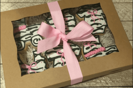 zebra print gift wrapping