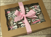 Zebra Print Gift Wrapping With Kids | Blogging Challenge #BlogchatterA2Z