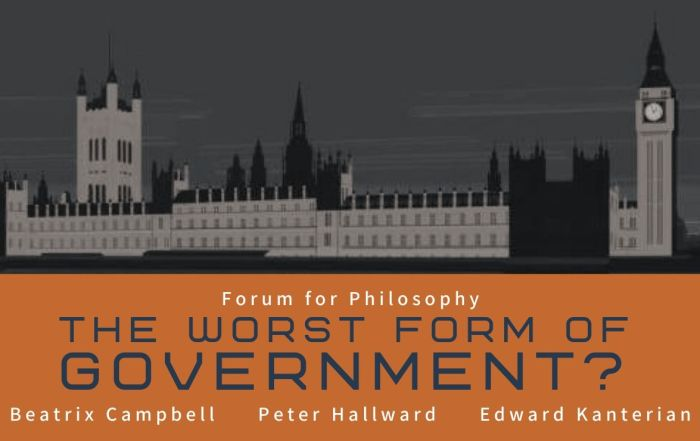From the vaults: The Worst Form of Government?