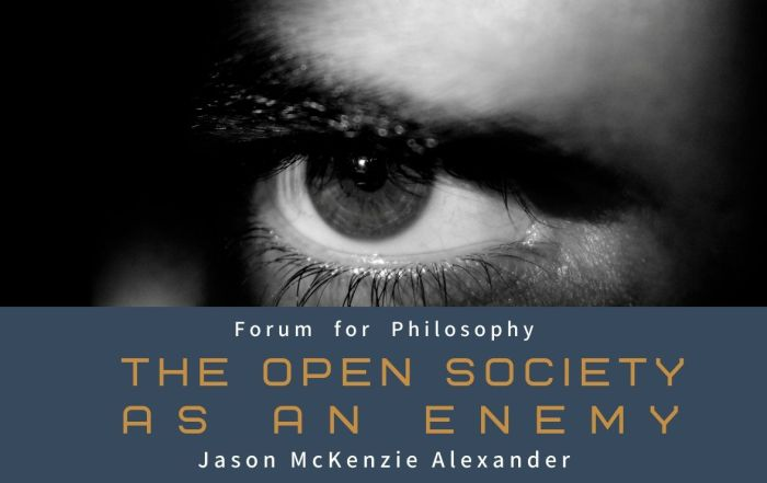 From the vaults: The Open Society as an Enemy