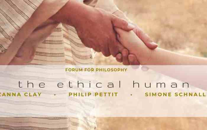 The Ethical Human