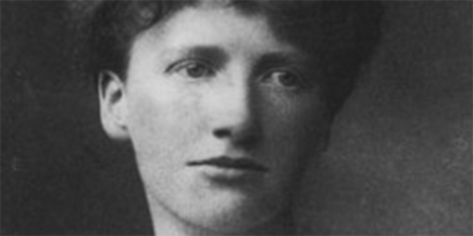Eglantyne Jebb in 1920