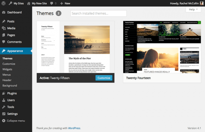 multisite-site-themes-screen