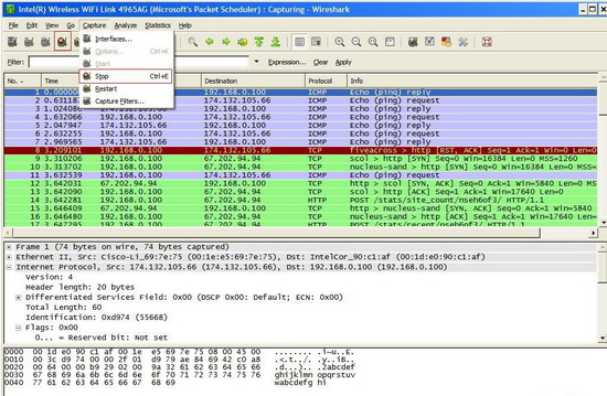 Wireshark Wifi Hacking Tools - Windows - Linux