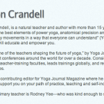 Shout out to Jason Crandell on Yogaglo.com