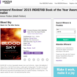 BLOOD SKY is 2015 Indiefab Finalist