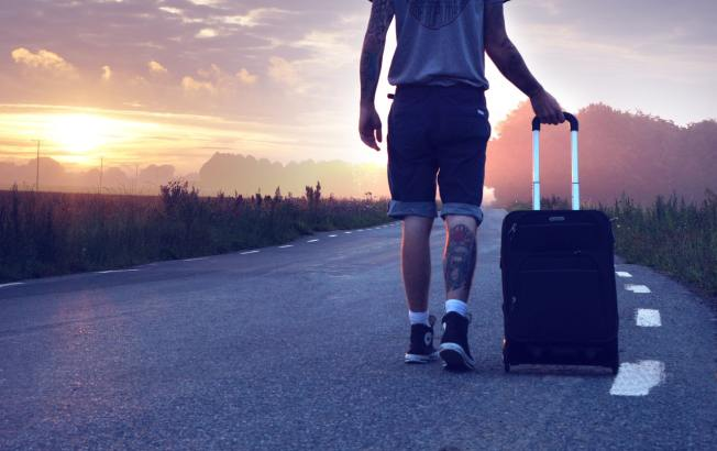 Travel can make a bad day in better
