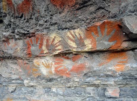 Stencil usati fino al secolo scorso in Papua Nuova Guinea
