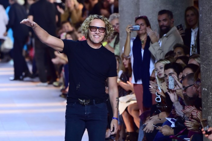 Peter Dundas at Roberto Cavalli Spring / Summer 2016 Milan's Fashion Week - Photo: GIUSEPPE CACACE/AFP/Getty Images