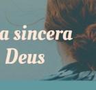 Conversa sincera com Deus