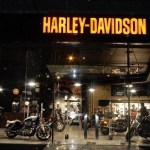 Harley-Davidson showroom