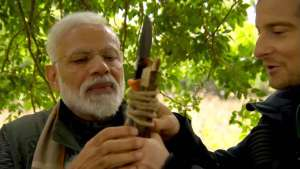 India's strongman PM: Modi to appear on Bear Grylls' Man vs Wild