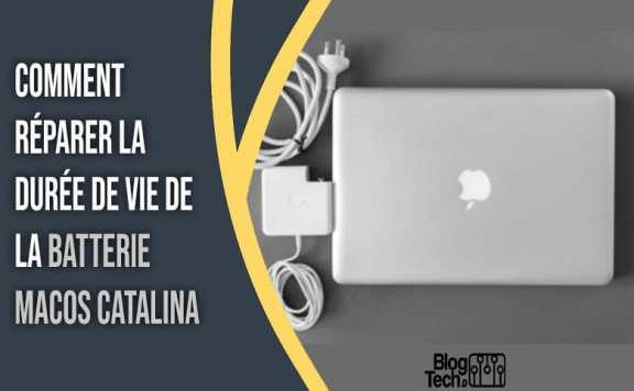 batterie macOS Catalina