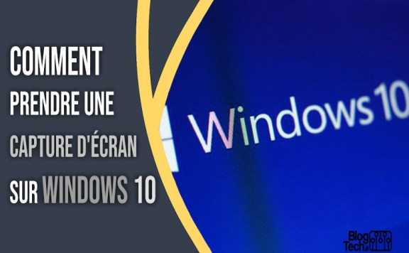 capture d'écran sur Windows