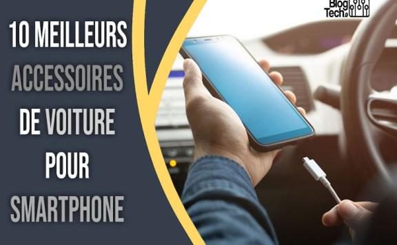 accessoires de voiture pour smartphone