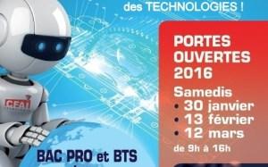 PORTES OUVERTES 2016 CFAI Apprentissage Haute Savoie Bac Pro BTS