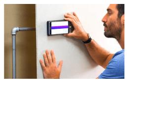 Pour voir les câbles et tuyaux à travers les murs (RFID)