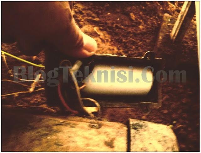 kapasitor pompa air