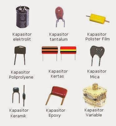 jenis-jenis kapasitor