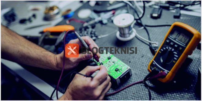cara mengukur arus (ampere) dan tegangan (volt) pakai multimeter