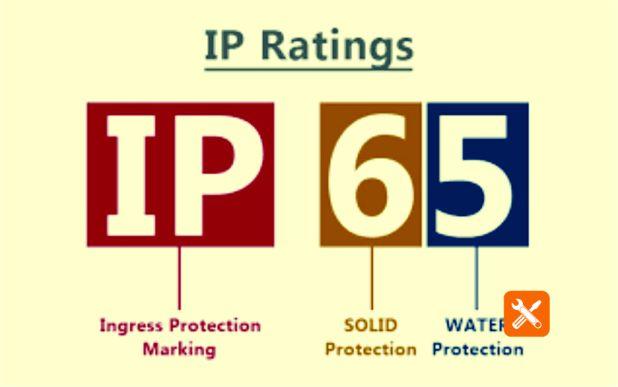 arti kode IP65