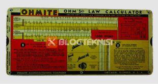 hukum ohm dan rangkaian seri