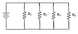 resistansi total pada rangkaian paralel
