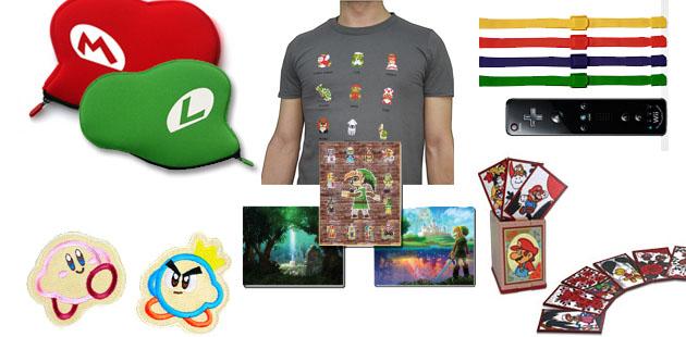 Estos son algunos premios que puedes conseguir en Club Nintendo.