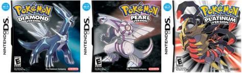 Diamond Pearl Platinum