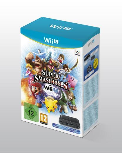 Pack Smas bros + mando GameCube