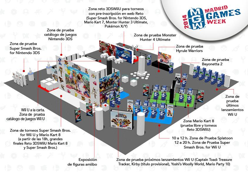Stand Nintendo MGW 2014