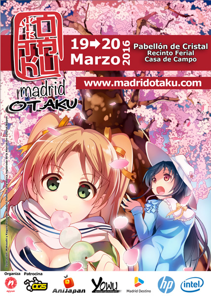 Cartel Madrid Otaku 2016