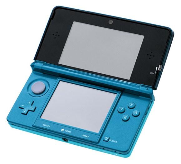 La 3DS original. Su mayor novedad fue la pantalla superior con 3D.
