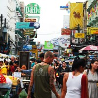 A Visual Article on The Excitement of Khaosan Road