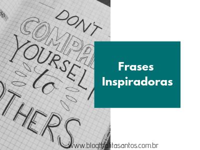 Frases inspiradoras para o Instagram