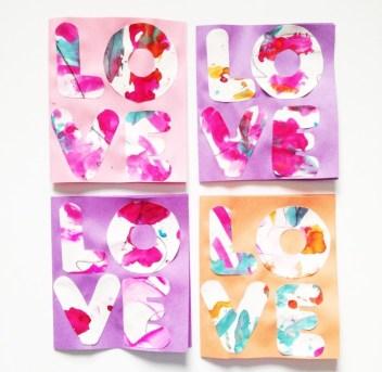 handmade-valentine-cards de Crazy about my baybah