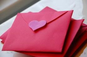 Heart valentine Card de Tinkerlab