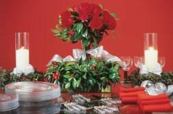arranjos florais de natal