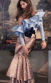 ruffles with mermaid skirt