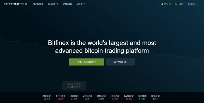 Sàn giao dịch bitcoin bitfinex